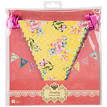 Buy Talking Tables Truly Scrumptious Bunting, 4m Online at johnlewis.com