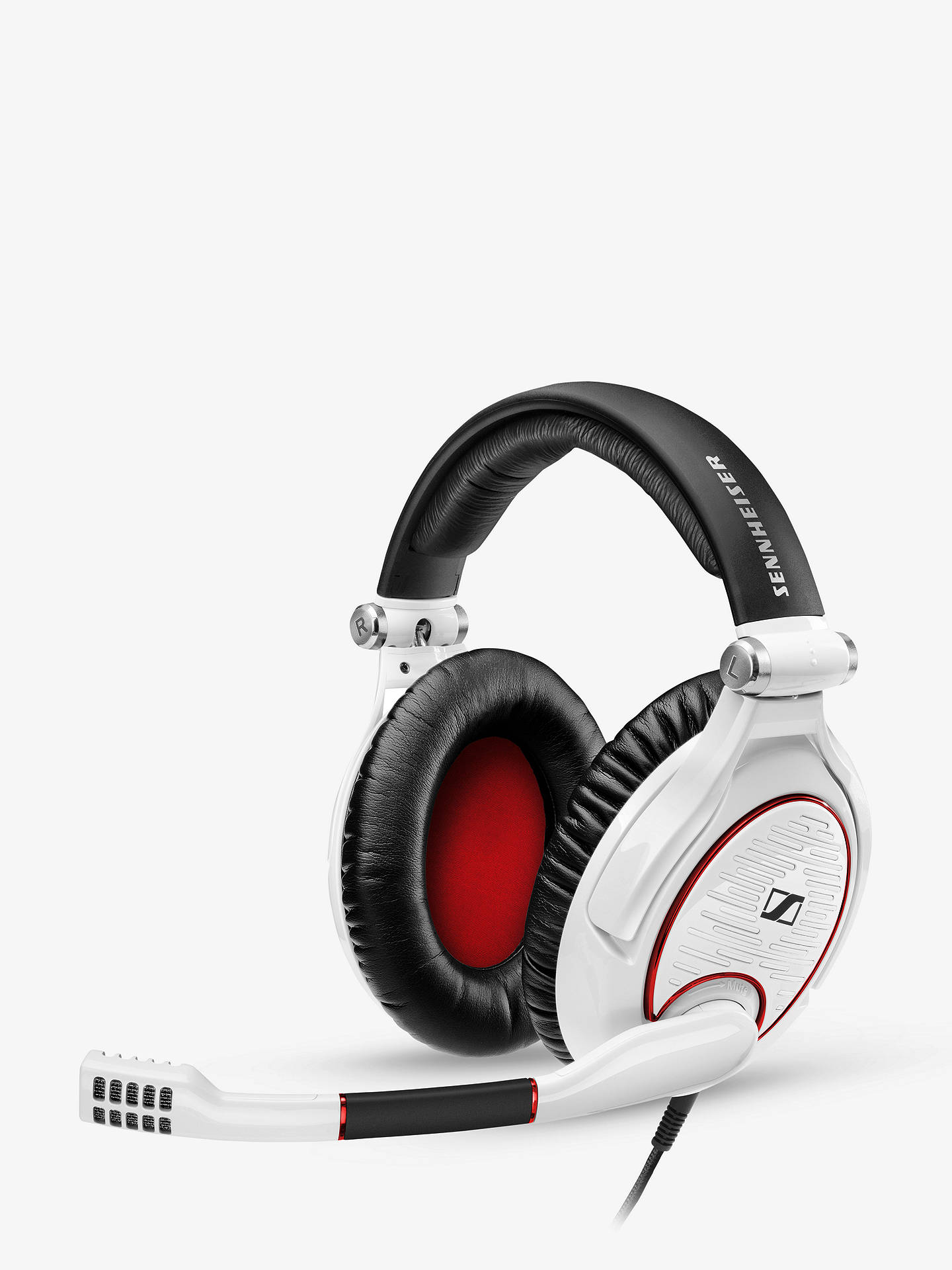 sennheiser game zero gaming headset with microphone for pc mac black at john lewis partners. Black Bedroom Furniture Sets. Home Design Ideas
