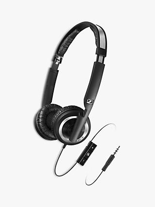 Sennheiser PX 200-II i Dynamic Closed On-Ear Headphones with Mic/Remote