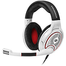 Buy Sennheiser GAME ONE Gaming Headset with Microphone for Xbox One & PS4, White Online at johnlewis.com