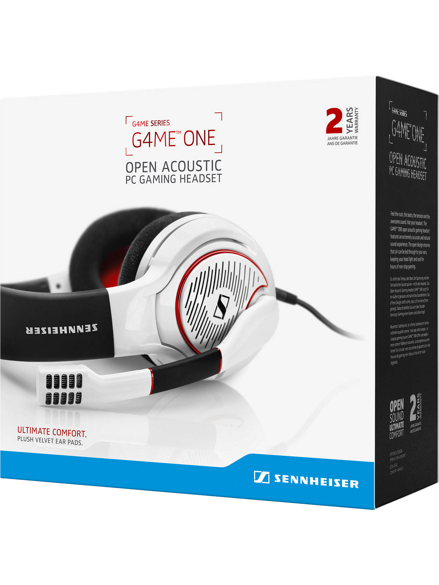 Sennheiser GAME ONE Gaming Headset with Microphone for Xbox