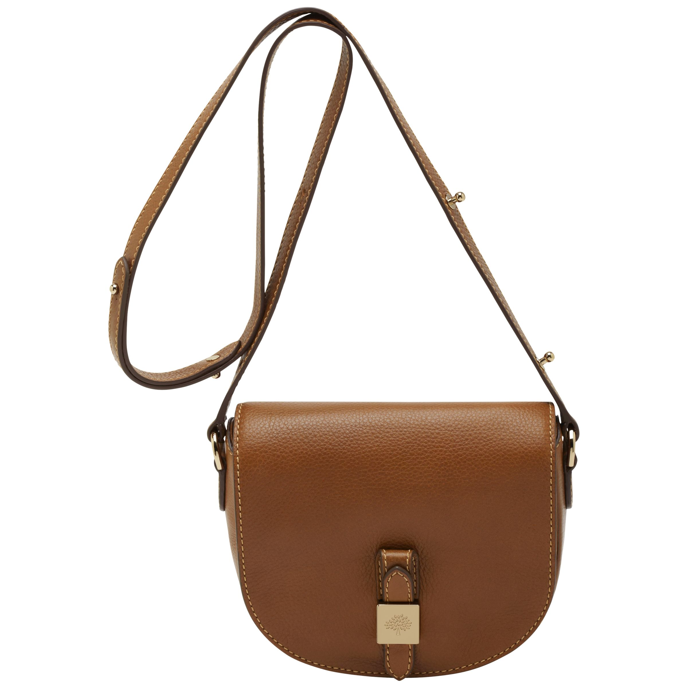 c0bc3b88acc6 Mulberry Tessie Small Leather Satchel Bag at John Lewis   Partners
