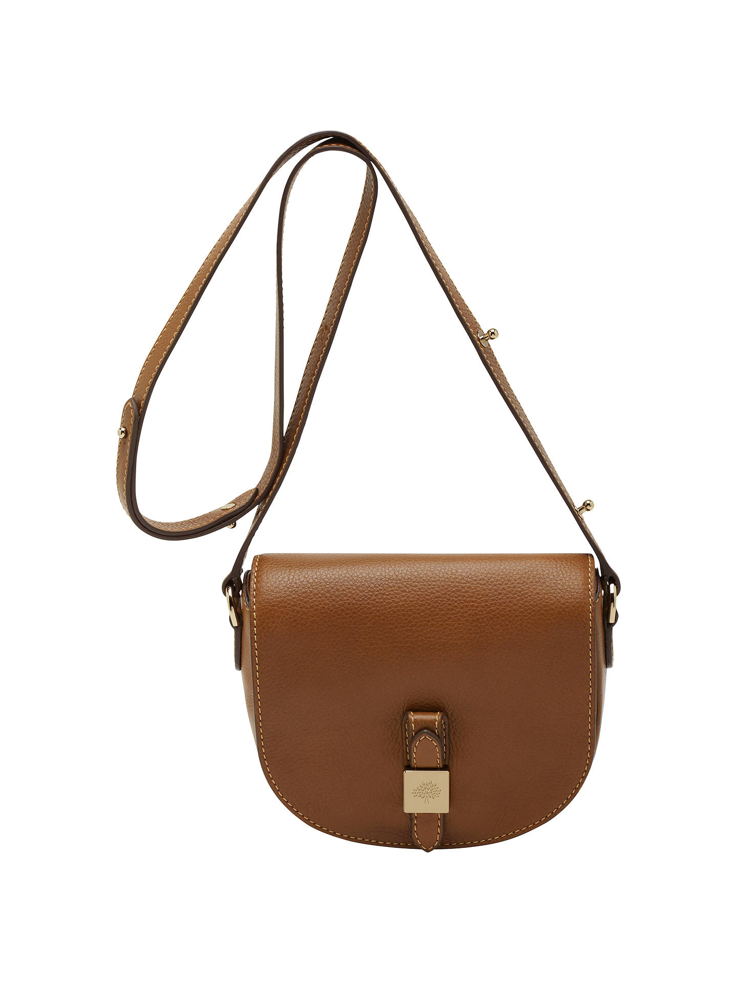 f3fea47dde Mulberry Tessie Small Leather Satchel Bag at John Lewis   Partners
