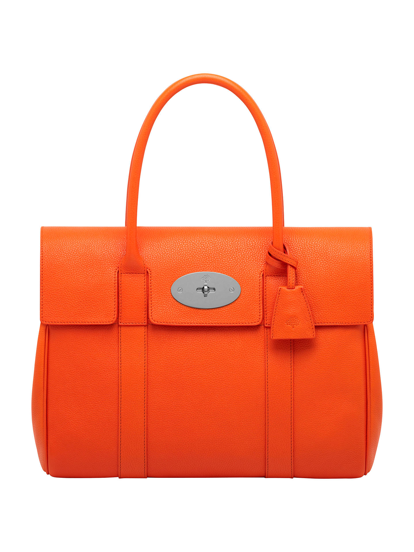 Mulberry Bayswater Small Leather Grab Bag at John Lewis   Partners bfaba9d383360