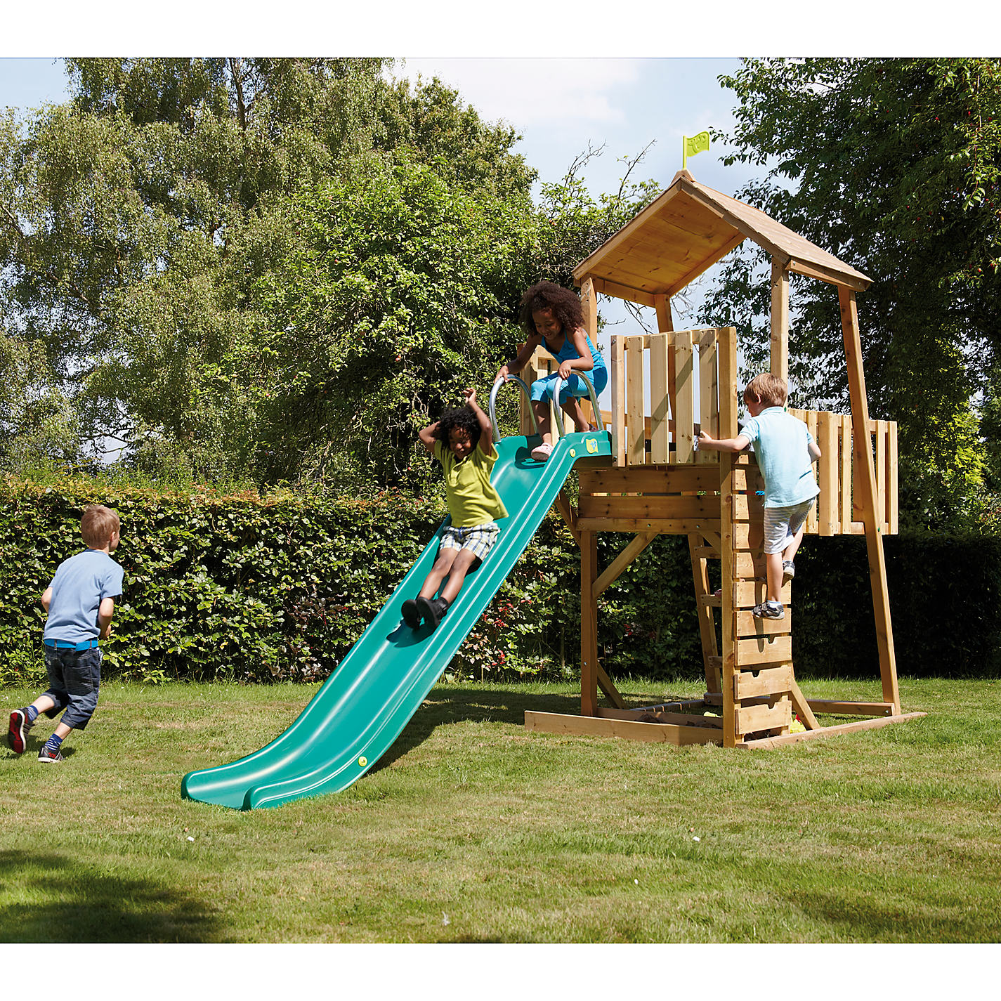 Buy TP Toys KW2S5 Kingswood2 Tower & Rapide Slide Set