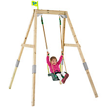 Buy TP Toys TP302P3 New Forest Acorn Swing Frame Set with Quadpod Online at johnlewis.com