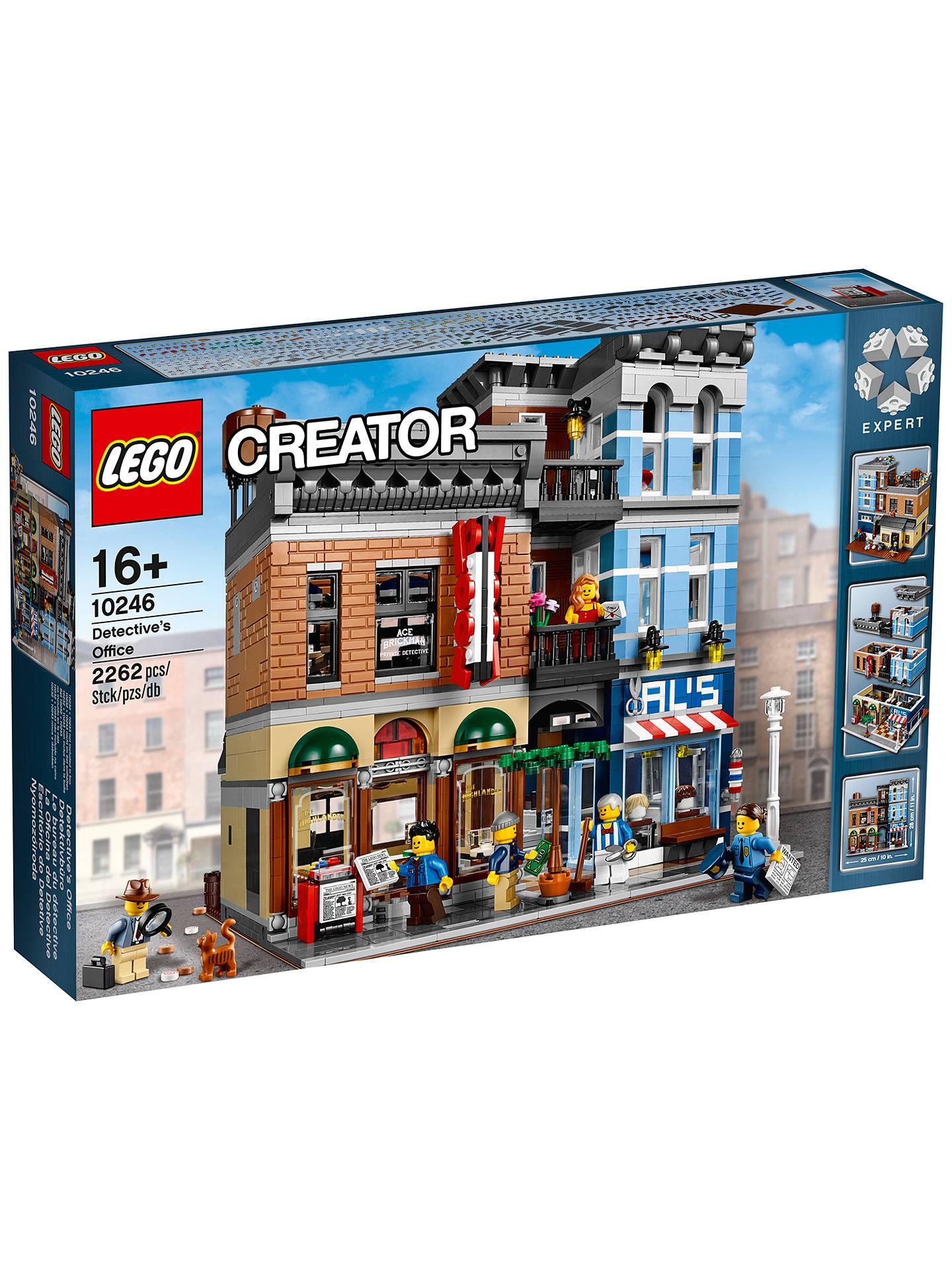 Office lego Building Buylego Creator 10246 Detectives Office Online At Johnlewis John Lewis Lego Creator 10246 Detectives Office At John Lewis Partners