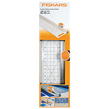 Buy Fiskars Rotary Cutter and Ruler Combination, Orange Online at johnlewis.com