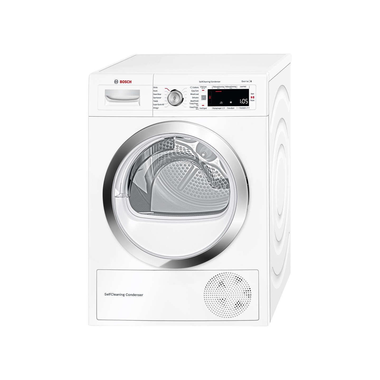 Loading Tumble Dryer ~ Bosch wtw gb heat pump condenser tumble dryer kg