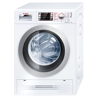 Image of Bosch WVH28422GB Washer Dryer, 7kg Wash/4kg Dry Load, A Energy Rating, 1400rpm Spin, White