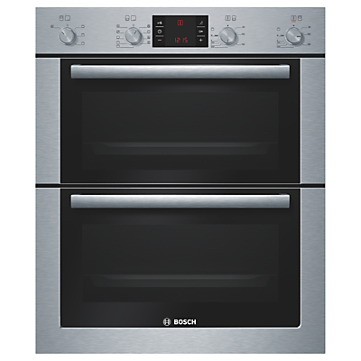 Image of 700mm Built-under Double Multi-Function Oven B/Steel
