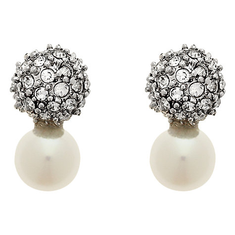 Buy Finesse Freshwater Pearl Stud Earrings Online at johnlewis.com