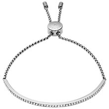 Buy Michael Kors Brilliance Bracelet, Silver Online at johnlewis.com