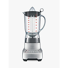 Buy Sage by Heston Blumenthal the Kinetix™ Twist Blender, Silver Online at johnlewis.com