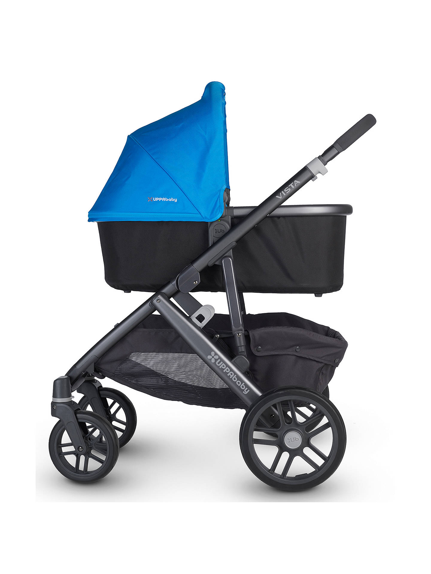 Buy Uppababy Vista Pushchair and Carrycot, Georgie Online at johnlewis.com