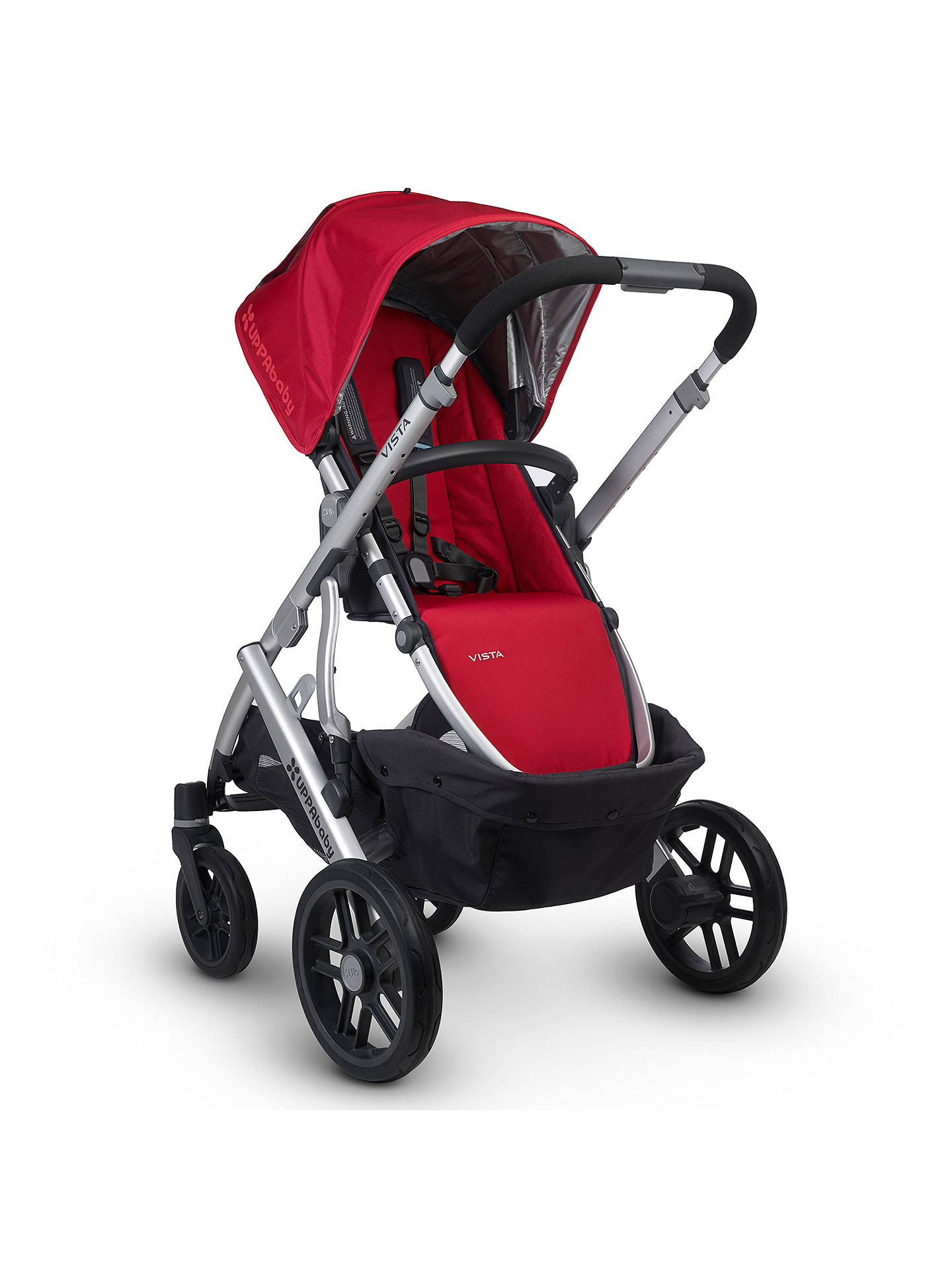 Uppababy Vista Pushchair And Carrycot Denny Red