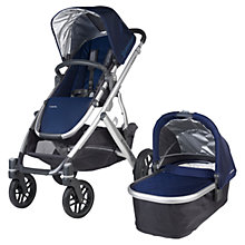 Buy Uppababy Vista 2015 Pushchair and Carrycot, Taylor Online at johnlewis.com