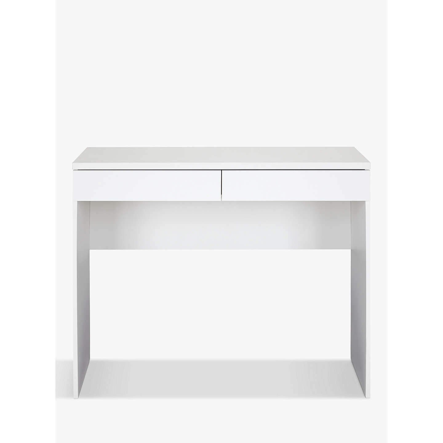 BuyHouse by John Lewis Mix it Dressing Table/Desk, Matt White Online at johnlewis.com