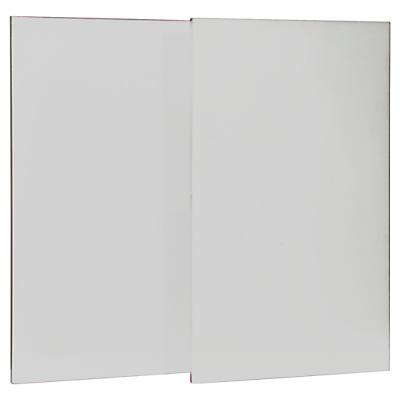 Stompa Uno S Plus Pack of 2 Doors, Large, White