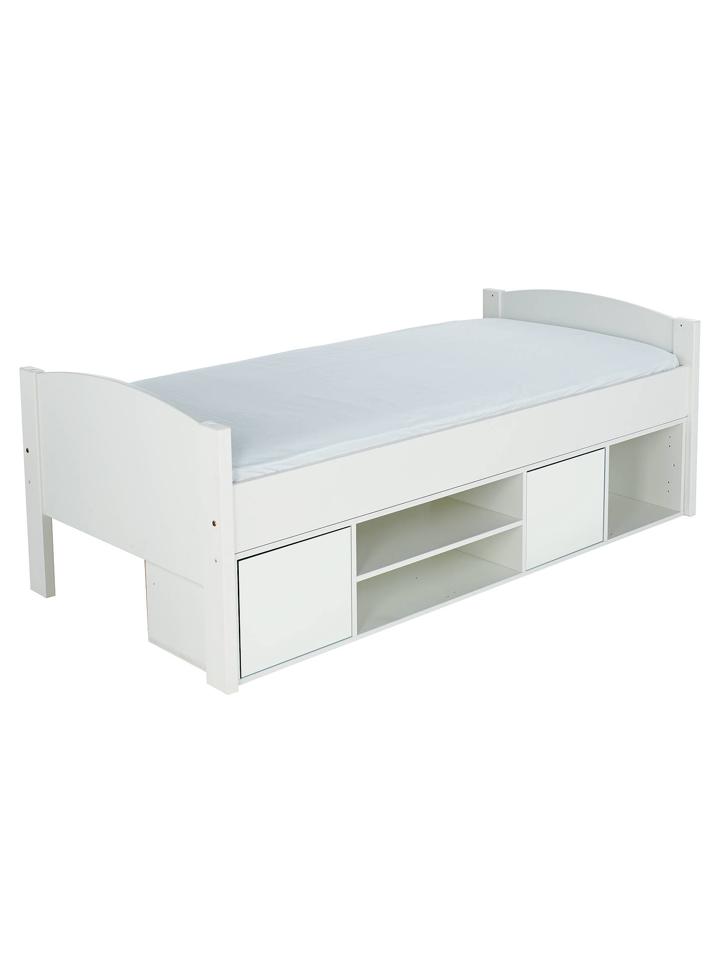 Stompa Uno S Plus Storage Cabin Bed White Online At Johnlewis