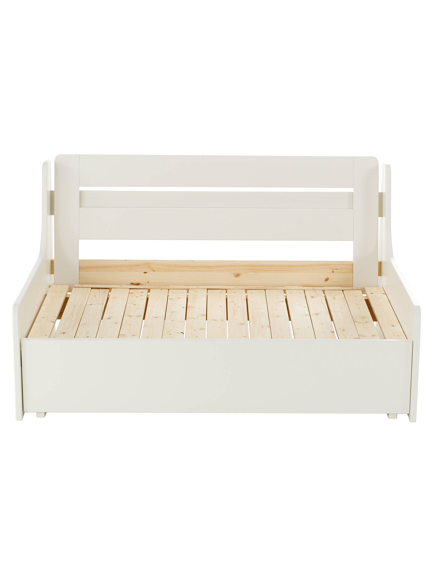 Fantastic Stompa Uno S Plus Double Chair Bed At John Lewis Partners Theyellowbook Wood Chair Design Ideas Theyellowbookinfo