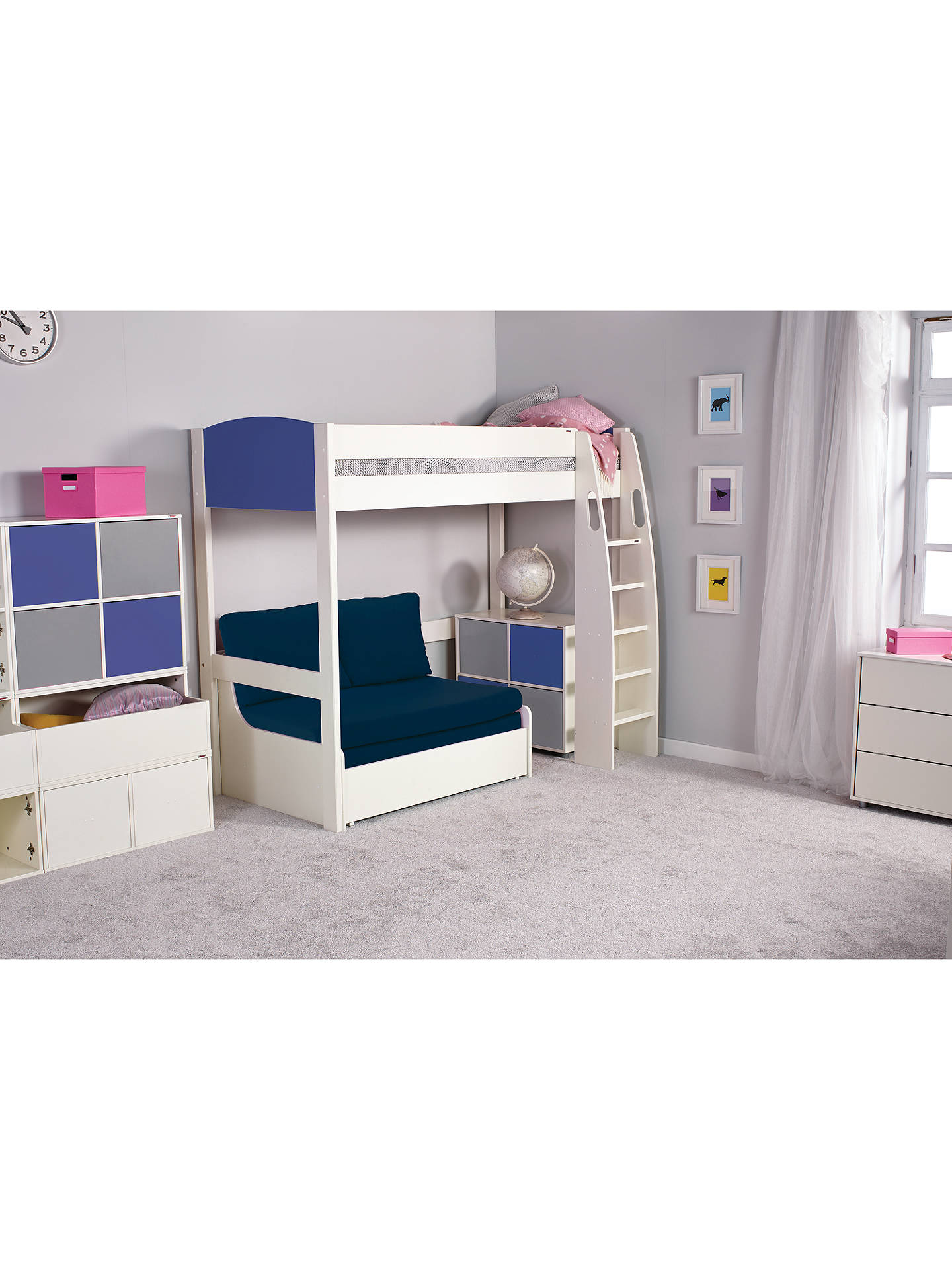 Sensational Stompa Uno S Plus Double Chair Bed At John Lewis Partners Theyellowbook Wood Chair Design Ideas Theyellowbookinfo