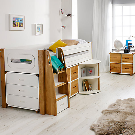Bedroom Furniture John Lewis buy stompa curve children's bedroom furniture range | john lewis