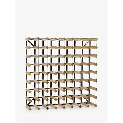 Traditional Wine Rack Co. Redwood Wine Rack, 72 Bottle, Light Oak