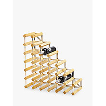 Buy Traditional Wine Rack Co. Red Wood Wine Rack, 27 Bottle, Light Oak Online at johnlewis.com
