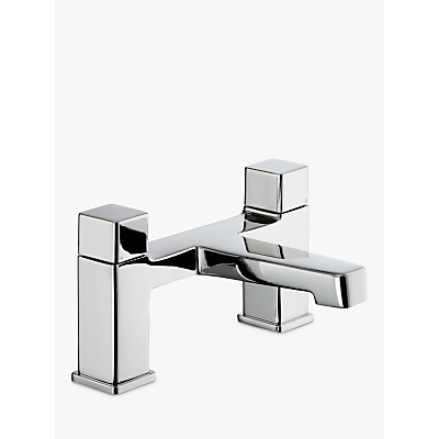 Image of John Lewis Spey Deck Mounted Bathroom Filler Bathroom Tap, Chrome