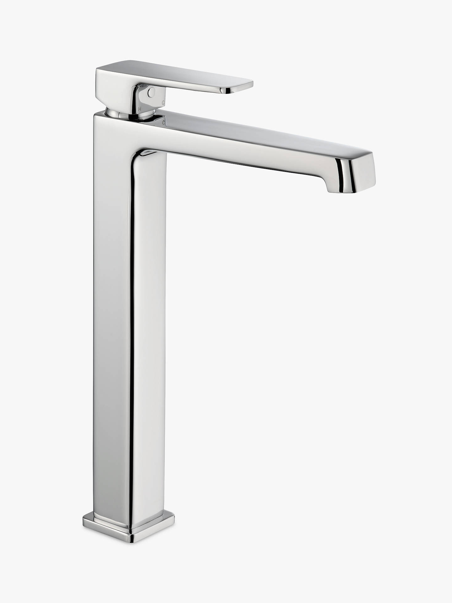 Buy John Lewis & Partners Spey Tall Basin Bathroom Monobloc Mixer Tap, Chrome Online at johnlewis.com