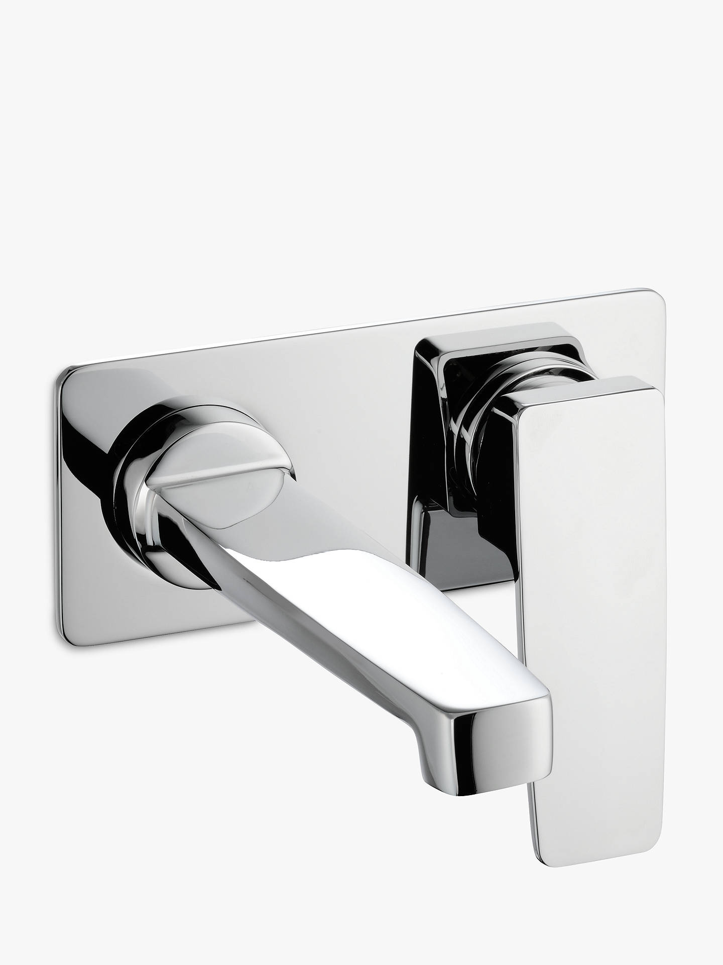 BuyJohn Lewis & Partners Spey Wall Mounted Basin/Bath Filler Bathroom Tap, Chrome Online at johnlewis.com