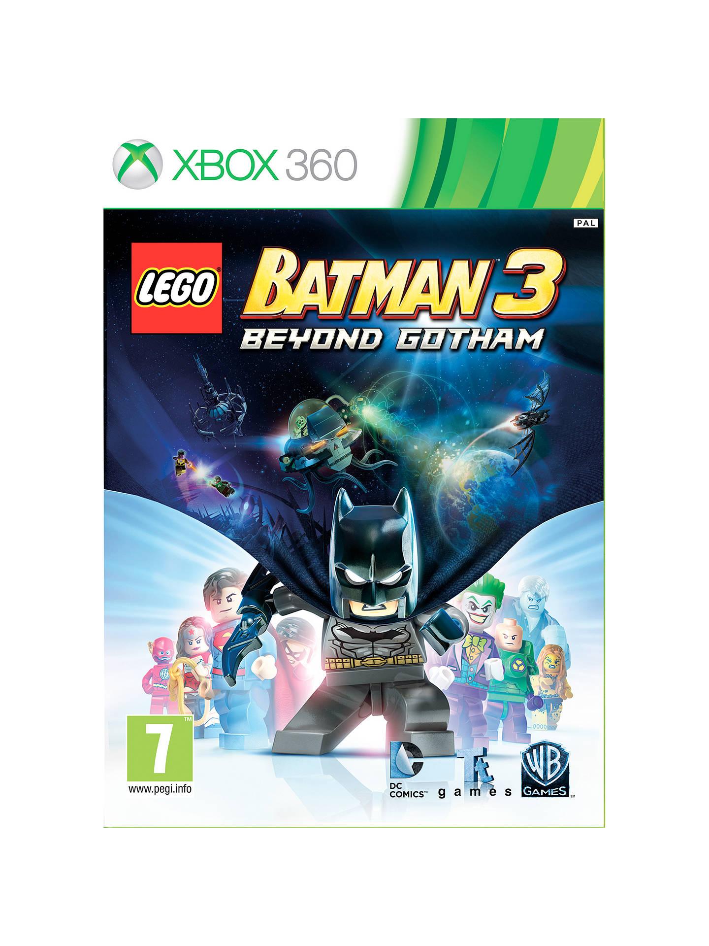 LEGO Batman 3: Beyond Gotham, Xbox 360 at John Lewis ...