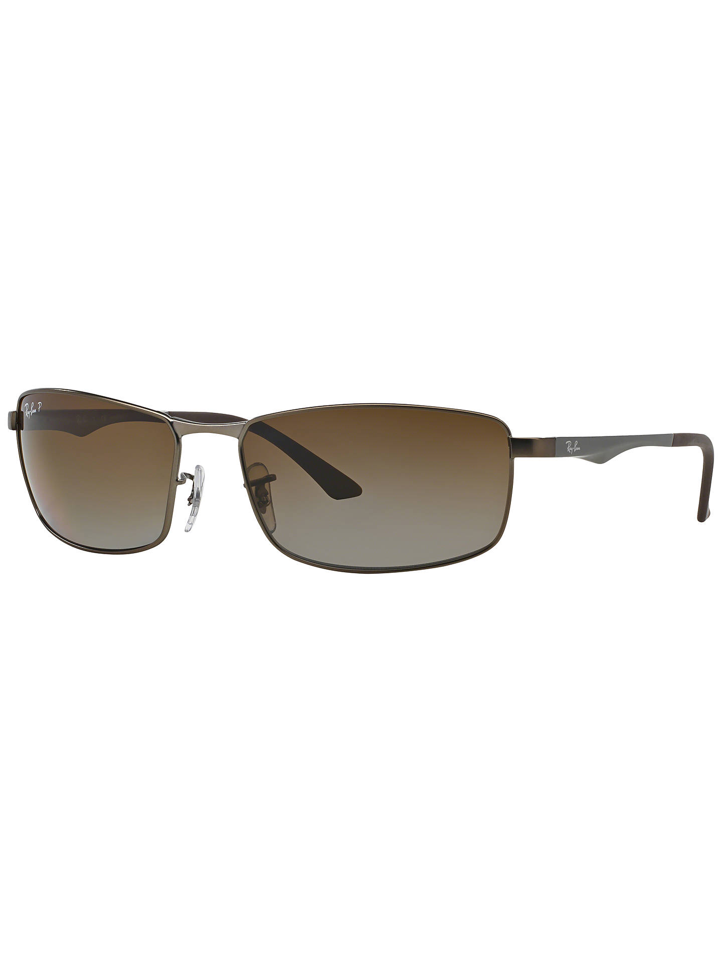 BuyRay-Ban RB3498 Active Lifestyle Sunglasses, Matte Gunmetal Online at johnlewis.com