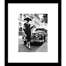 Buy Getty Images Gallery Elegant Daywear Framed Print, H57 x W49cm Online at johnlewis.com