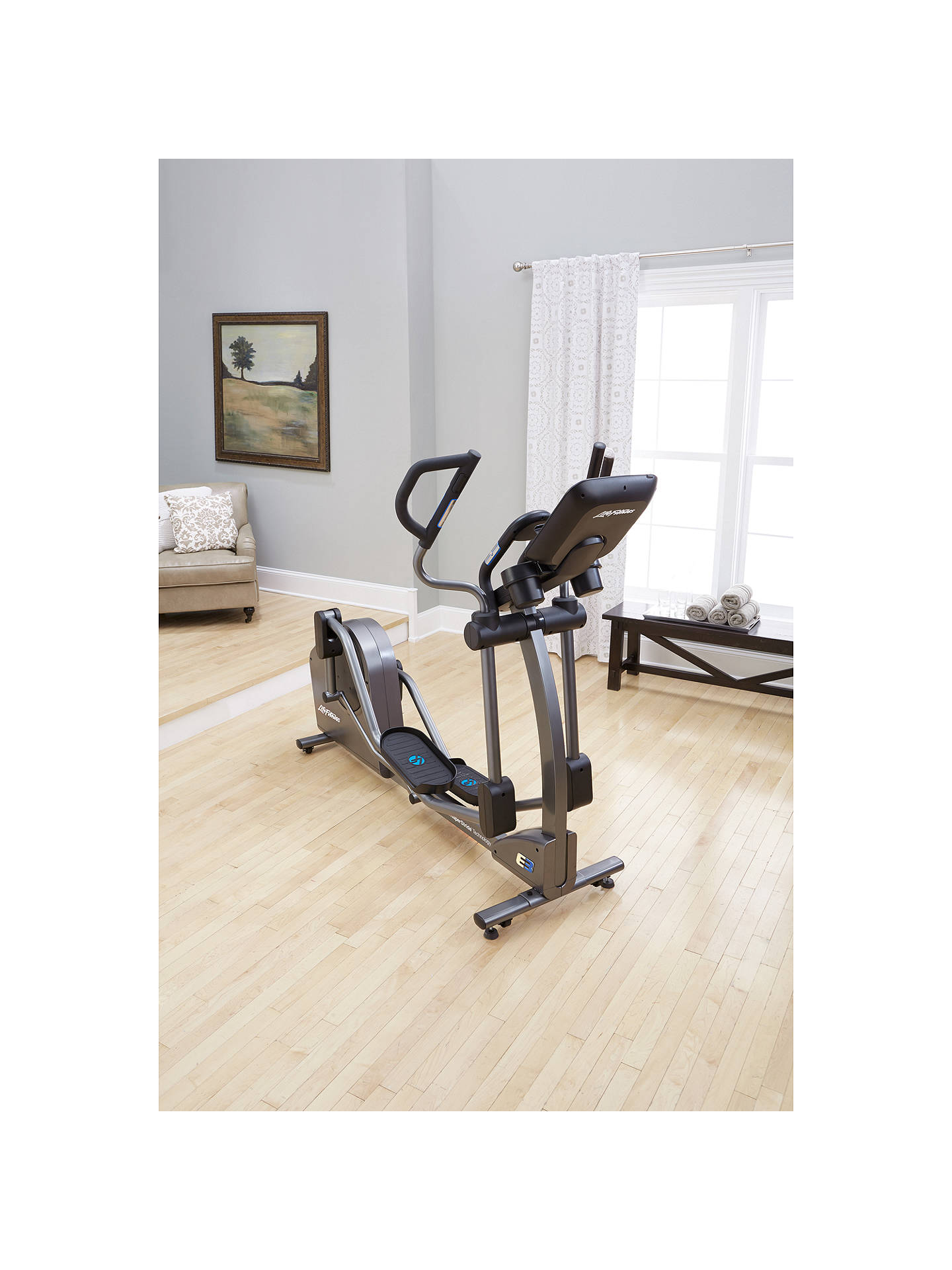 BuyLife Fitness E3 Elliptical Cross Trainer with Track Connect Console Online at johnlewis.com