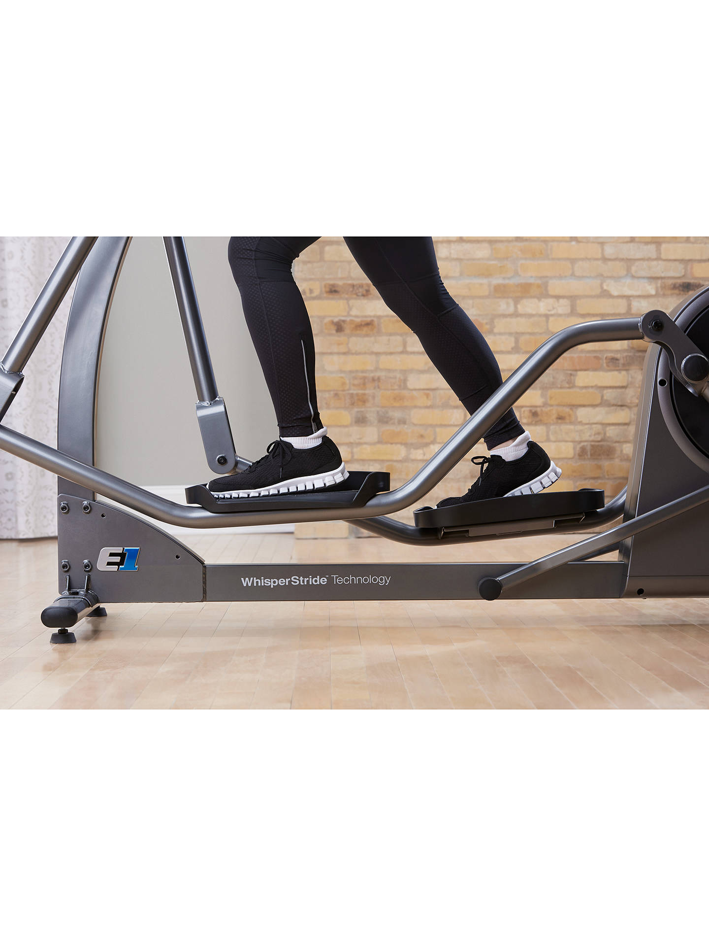 BuyLife Fitness E1 Elliptical Cross Trainer with Go Console Online at johnlewis.com