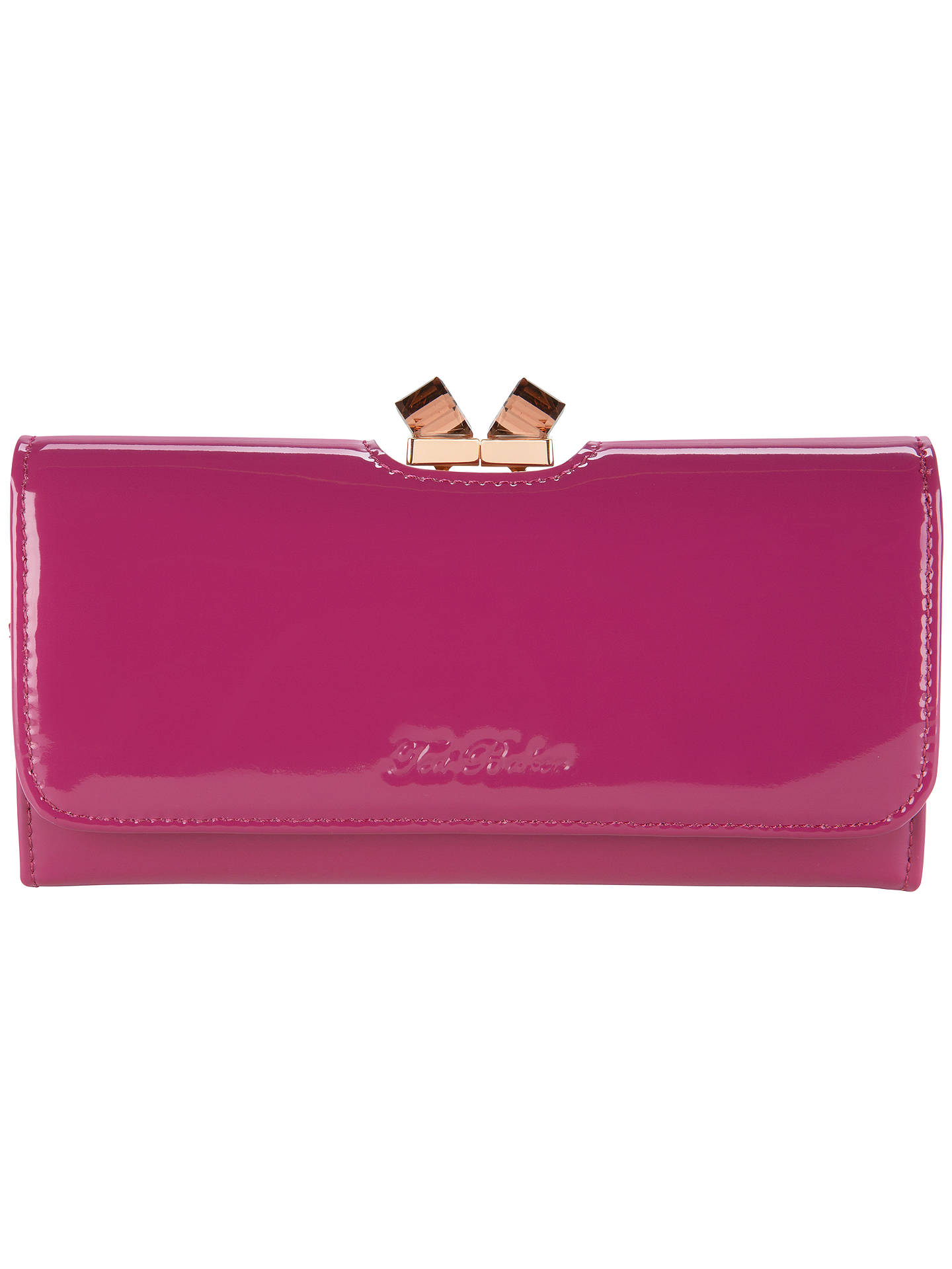 9ae57bf63742 Buy Ted Baker Missti Patent Leather Crystal Matinee Purse