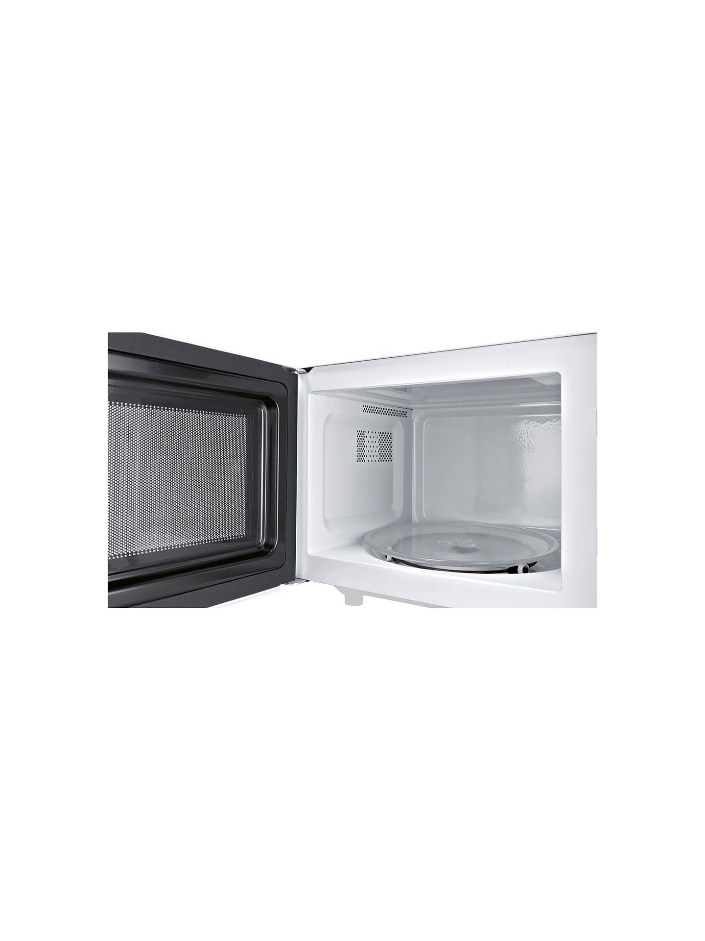 BuyBosch HMT72G450B Microwave with Grill, Stainless Steel Online at johnlewis.com