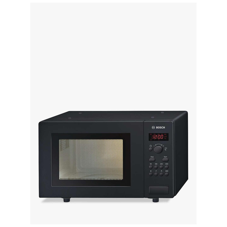 BuyBosch HMT75M461B Microwave, Black Online at johnlewis.com .