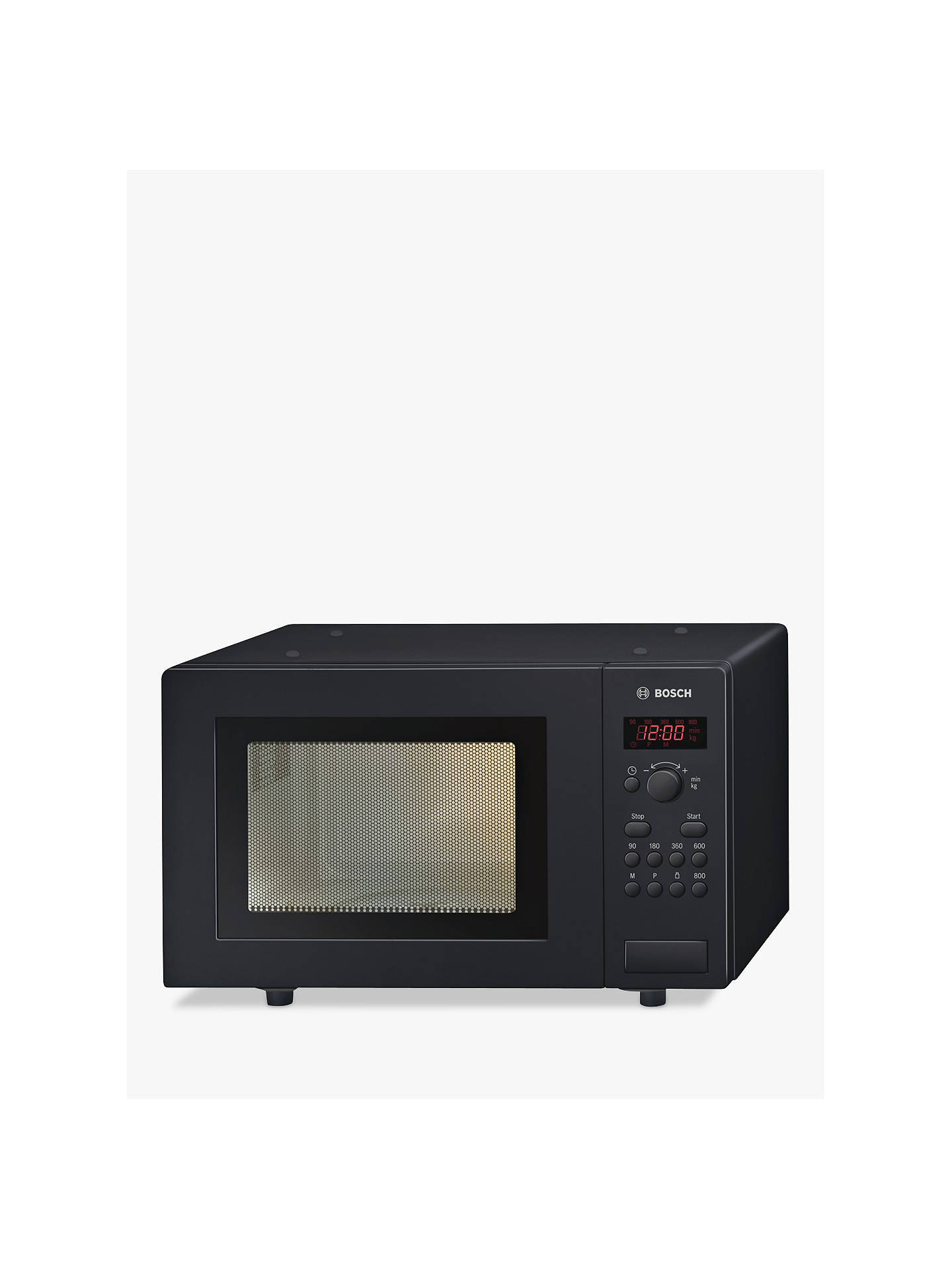 Buy Bosch HMT75M461B Microwave, Black Online at johnlewis.com