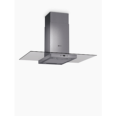 Image of Neff I89EH52N0B Island Chimney Cooker Hood, Stainless Steel