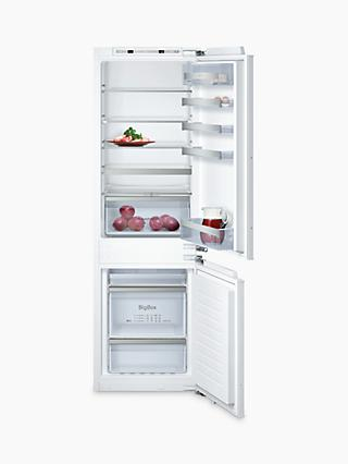 Neff KI7863D30G Integrated 60/40 Fridge Freezer, Fixed Door Hinge, A++ Energy Rating, 55cm Wide