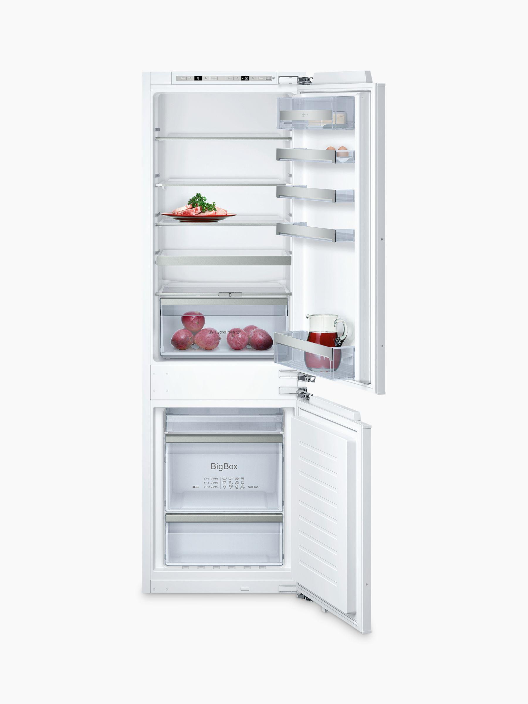 NEFF Neff KI7863D30G Integrated Fridge Freezer, A++ Energy Rating, 55cm Wide