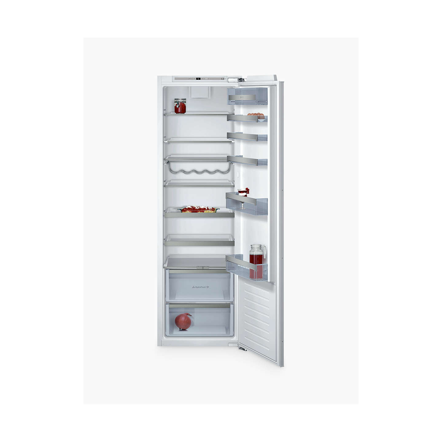 BuyNeff KI1813F30G Tall Integrated Larder Fridge, A++ Energy Rating, 56cm Wide, White Online at johnlewis.com