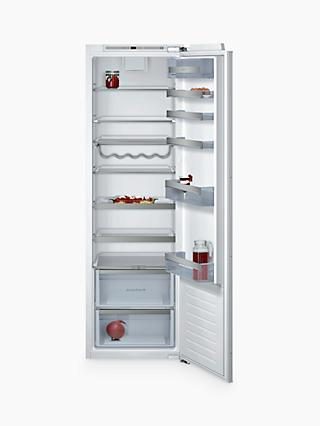 Neff KI1813F30G Tall Integrated Larder Fridge, A++ Energy Rating, 56cm Wide