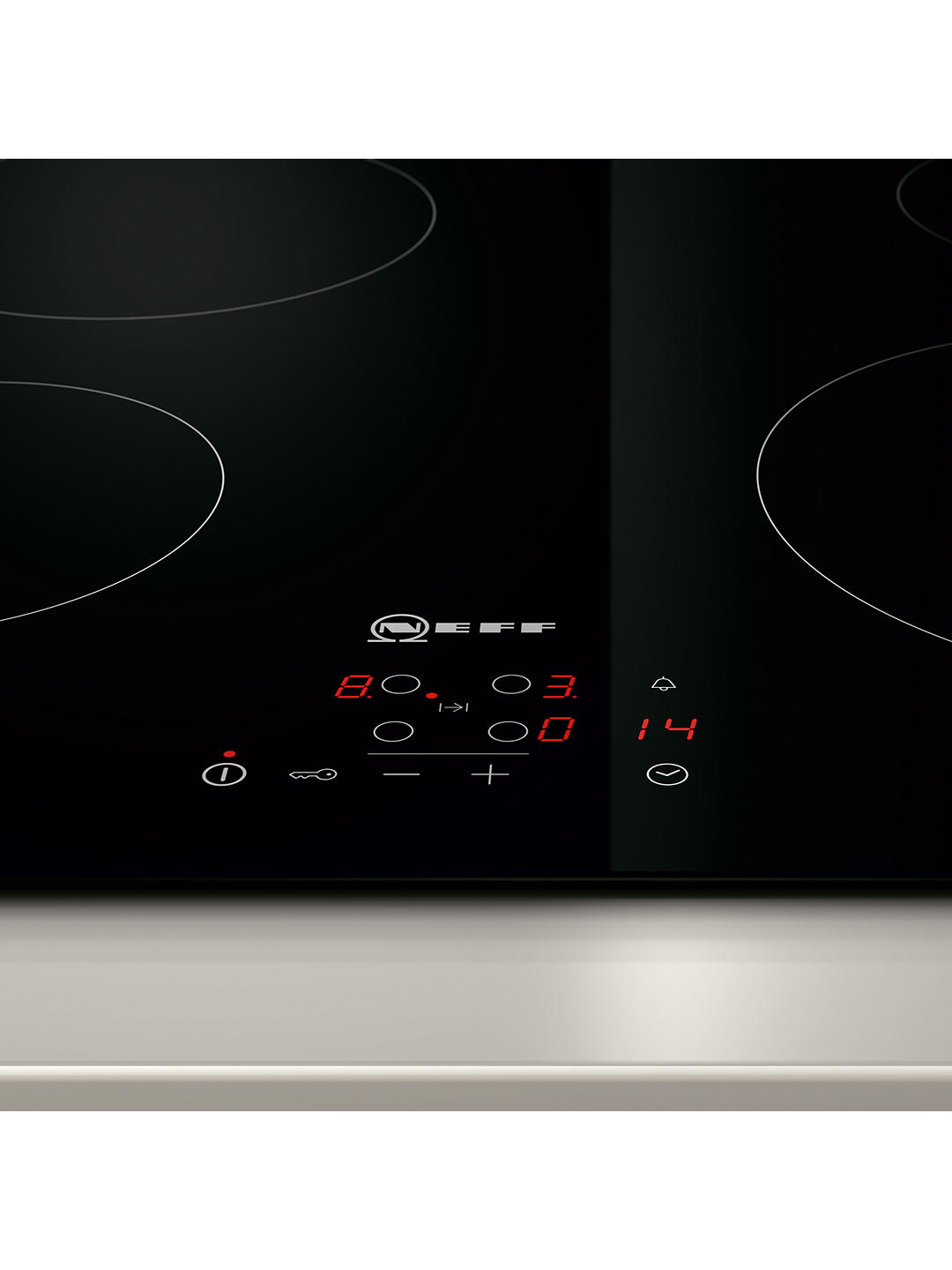Buy Neff T10B40X2 Electric Ceramic Hob, Black Online at johnlewis.com