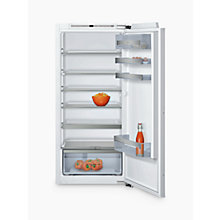 Buy Neff KI1413F30G Integrated Larder Fridge, A++ Energy Rating, 56cm Wide Online at johnlewis.com
