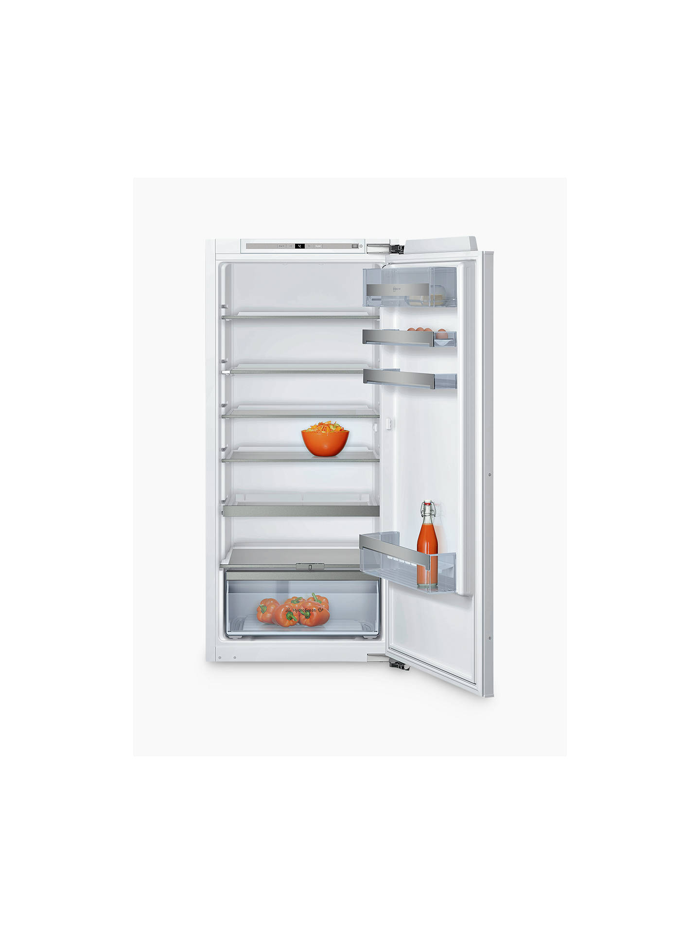 BuyNeff KI1413F30G Integrated Larder Fridge, A++ Energy Rating, 56cm Wide Online at johnlewis.com