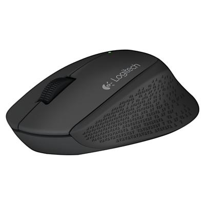 Logitech M280 Wireless Mouse, Black